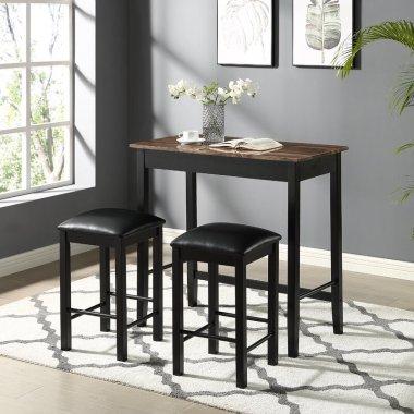 Набор Стол и стул для кухни Zussen 3 шт. в наборе