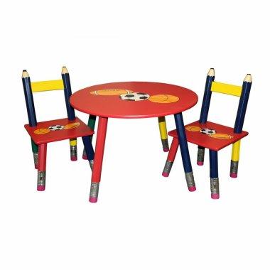 Детский стол и стулья 3 шт. (Комплект)