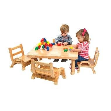 Детский стол и стулья 5 шт. (Комплект)