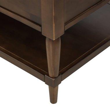 Журнальный кофейный столик Lift Top Abreu с полками - Baby House