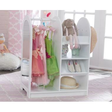 Игровой открытый гардеробный шкафчик для девочки Модница