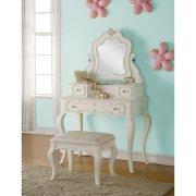 Детский макияжный столик Eddins набор с зеркалом - Baby House