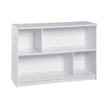 Напольная полка-шкаф для книг и игрушек Baby House белая